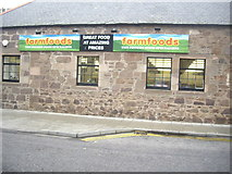 NO8785 : 'farmfoods' shop, Cameron Street by Stanley Howe