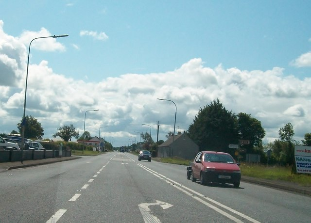 Maghera Cross Roads on the N3 at Carrakeelty Beg