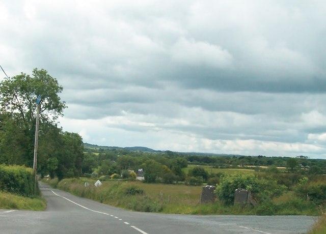 Knocknaveagh Cross Roads between Ryefield and Boolies