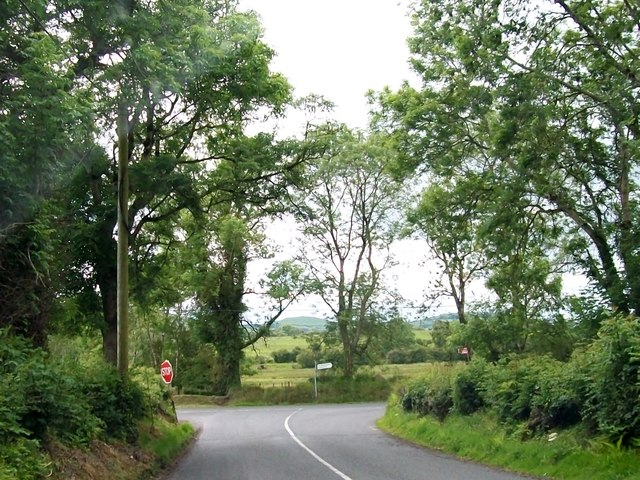 T-junction at Knockaraheen