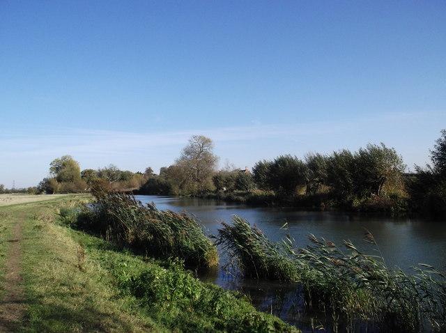 The Thames towards Eaton Hastings