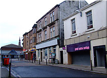 NS2776 : Nicolson Street at West Stewart Street by Thomas Nugent
