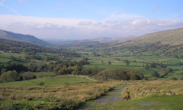 Dentdale from the Craven Way