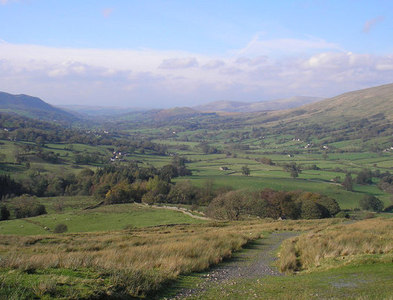 SD7186 : Dentdale from the Craven Way by John Illingworth