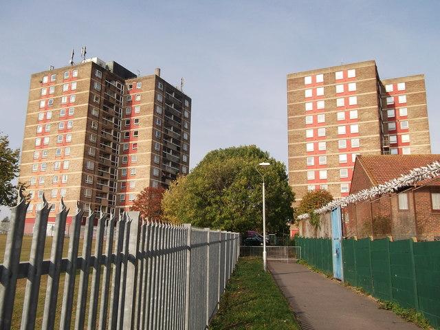 Housing Blocks in New Addington