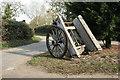 TF0442 : Farm cart by Richard Croft