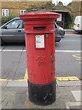 TQ2282 : Victorian postbox, Harrow Road / Letchford Gardens, NW10 by Mike Quinn