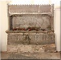TL7164 : All Saints, Gazeley - Recessed tomb by John Salmon