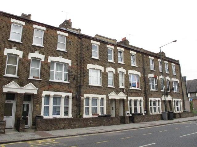 Terraced houses, Harrow Road, NW10
