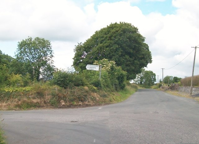 The junction of the Oldcastle and Boolies Road at Knockaraheen