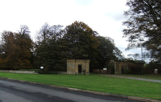 Old entrance to Rokeby Park