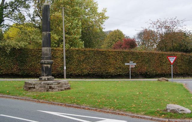 The Obelisk, Tixall