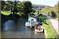 ST7864 : Boat moored on the Kennet and Avon Canal by Philip Halling