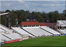 SK5838 : Trent Bridge Cricket Ground: the Larwood and Voce Stand by John Sutton