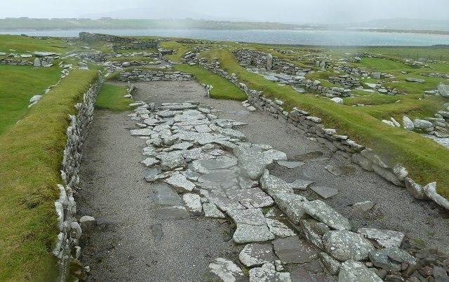 Jarlshof - The Norse settlement (Viking)
