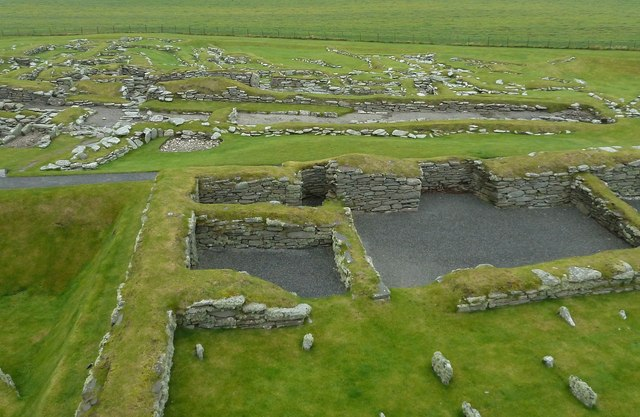 Jarlshof - Norse settlement from the Laird's house