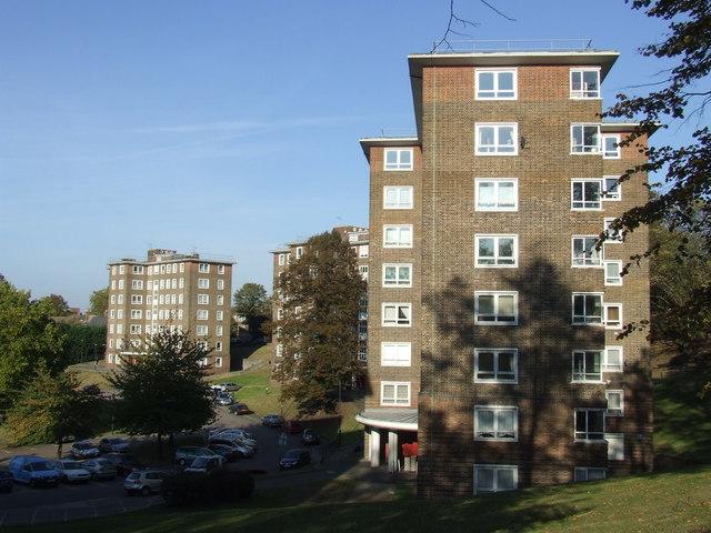 Blocks of flats, Charlton