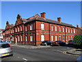 NZ3572 : Whitley Bay - Police Station by Dave Bevis