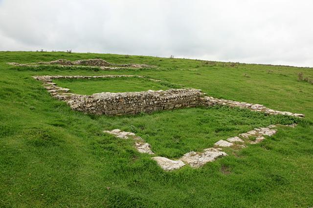 Site of Romano-British Temple, Maiden Castle