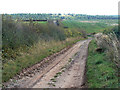 SK6333 : Wolds Lane, looking from Clipston by Alan Murray-Rust