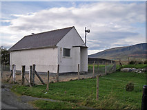 NG4867 : Telephone exchange, Stenscholl by Richard Dorrell
