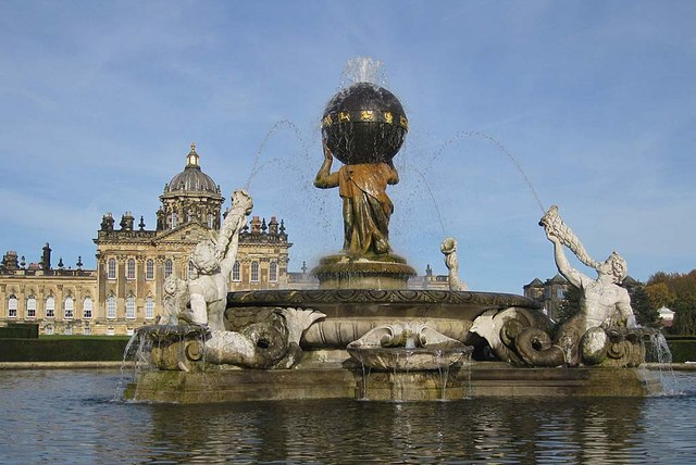 Atlas Fountain, Castle Howard