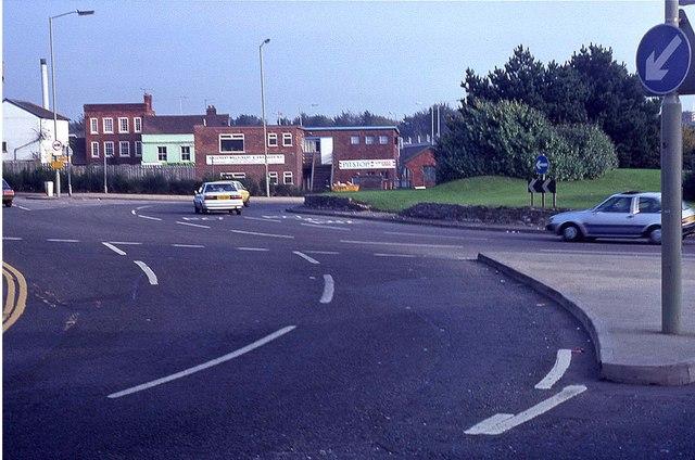 Fareham Quay Street Roundabout (1988)