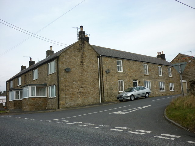 Sarelaw Cottage on the A68 near Ridsdale