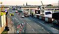 J3474 : Weir and cross-harbour bridges, Belfast (59) by Albert Bridge