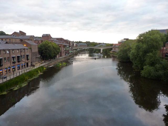 River Wear from Framwelgate Bridge, Durham