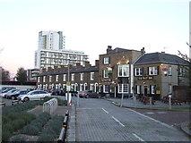 TQ3979 : Pilot Inn, North Greenwich by Malc McDonald