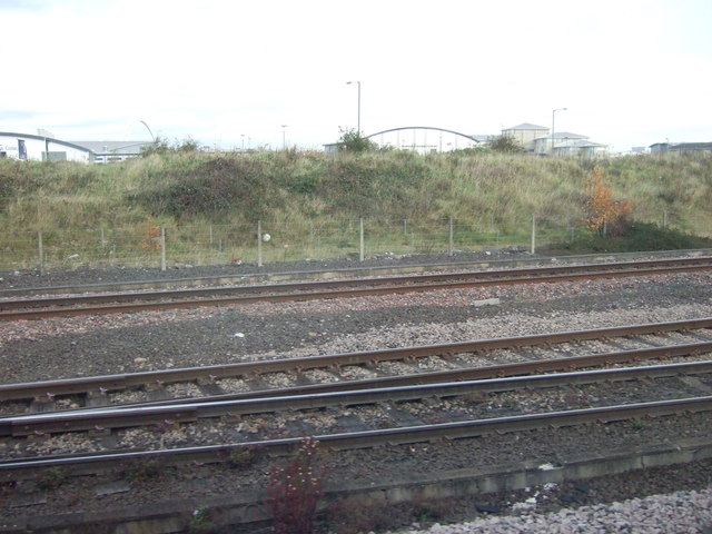 Railway towards Middlesbrough