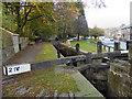 SD9905 : Huddersfiels Narrow Canal, Lock 21 by David Dixon