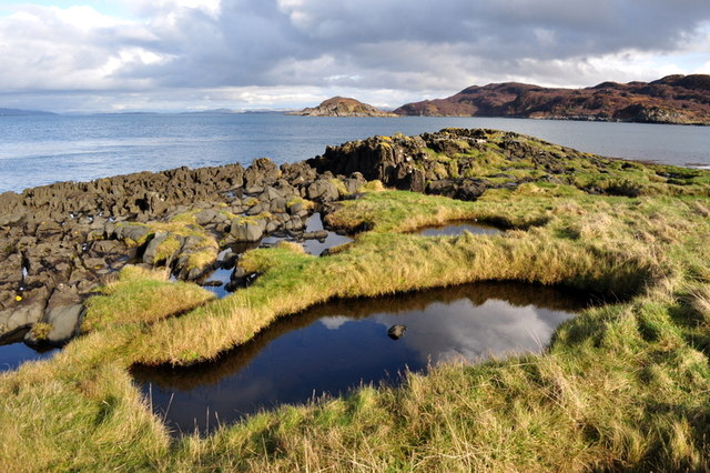 Pools on Eilean Traigh by Howard Cleveland