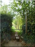 SX8467 : Orange Way in Devon and Torbay (88) by Shazz