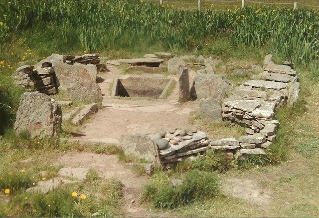 Bronze Age House at Liddel Farm