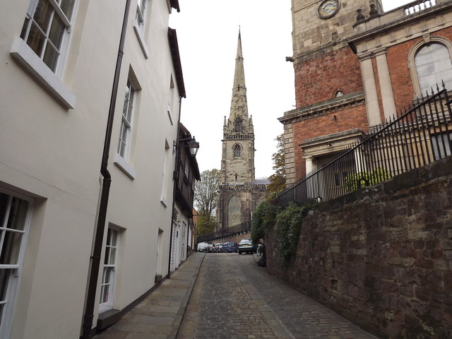 Fish Street Shrewsbury