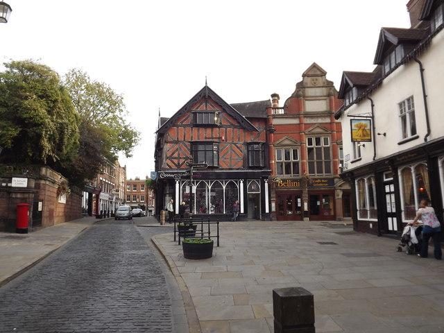 High Street Shrewsbury