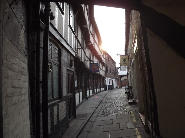 The Lion and Tap passage