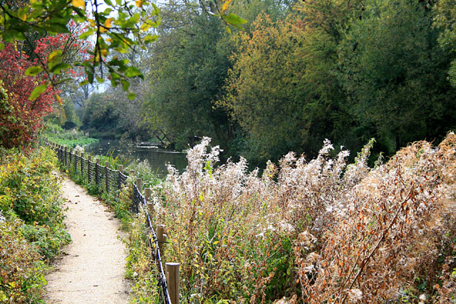 Path beside the Itchen