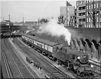 TQ2775 : Oxted line train from Victoria leaving Clapham Junction by Ben Brooksbank