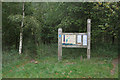 SK5853 : Notice board at Rigg Lane Car Park by Alan Murray-Rust