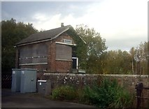 NZ7805 : Disused signal box, Glaisdale Station by JThomas