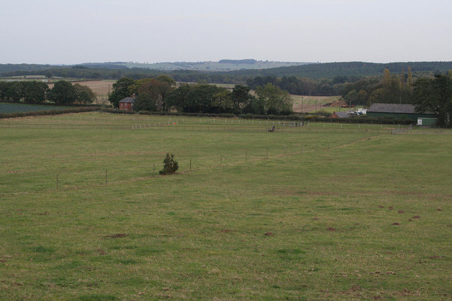 View towards Blidworth Bottoms