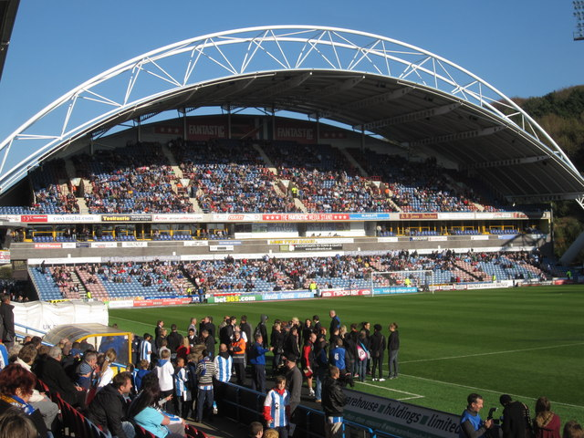 'The Fantastic Media Stand', Galpharm Stadium