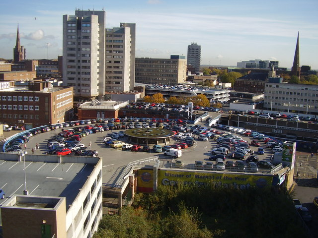 Picture of Coventry Market car park