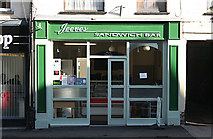 ST0207 : Cullompton: Jeeves Sandwich Bar by Martin Bodman