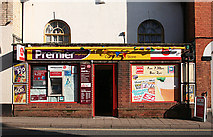 ST0207 : Cullompton: Post Office and Premier Express by Martin Bodman