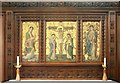 TQ2887 : St Michael, South Grove, Highgate - Reredos by John Salmon