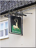 TM2373 : The White Hart Public House, Stradbroke by Adrian Cable